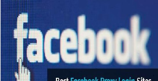 Top 5 Sites and Servers for Facebook Proxy Login - DICC