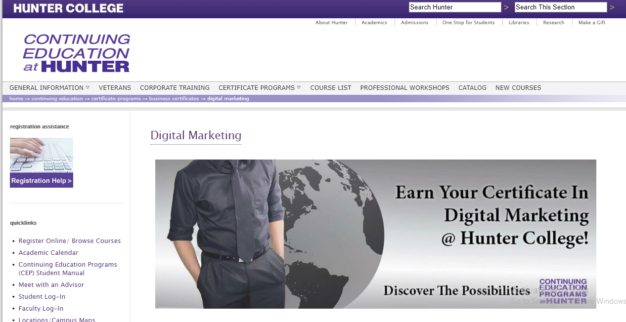 Top 10 Digital Marketing Institutes In New York Nyc Fee Modules
