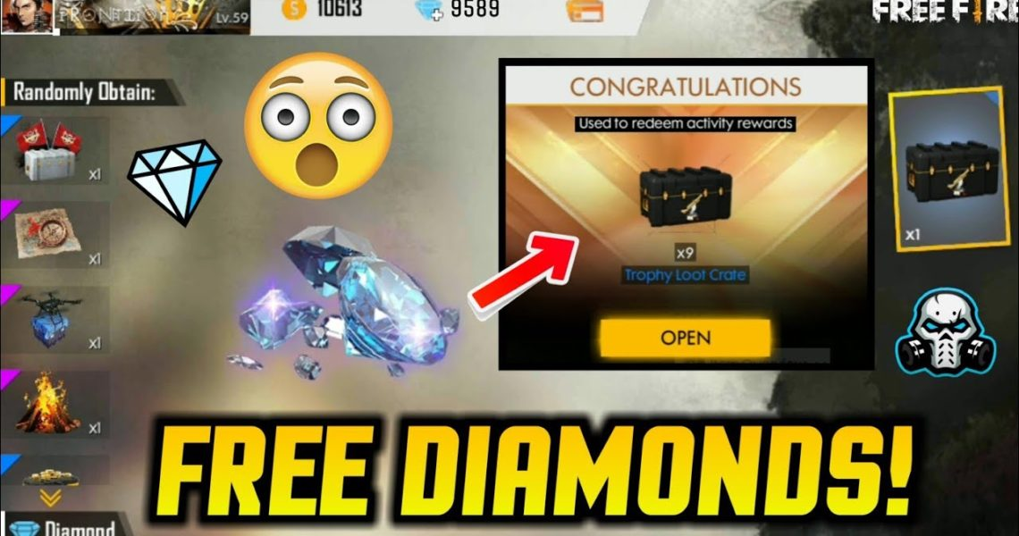 how to get unlimited diamonds and coins in free fire