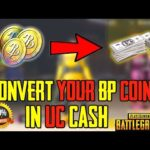 Convert BP to UC in PUBG Mobile