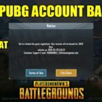 Factors ban your pubg account